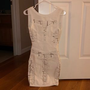 House of choice white body on dress